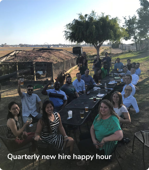 New Hire Happy Hour