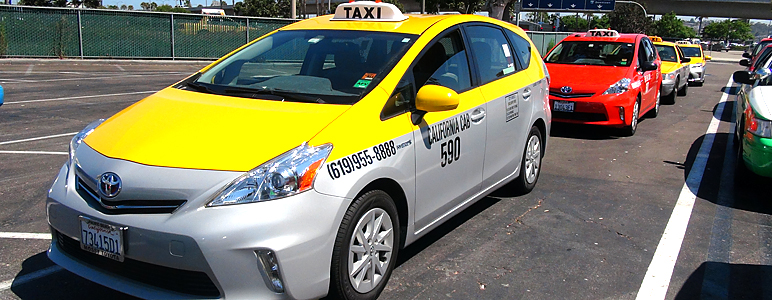 Cab San Diego >> Green Cabs Successful At San Diego Airport Center For