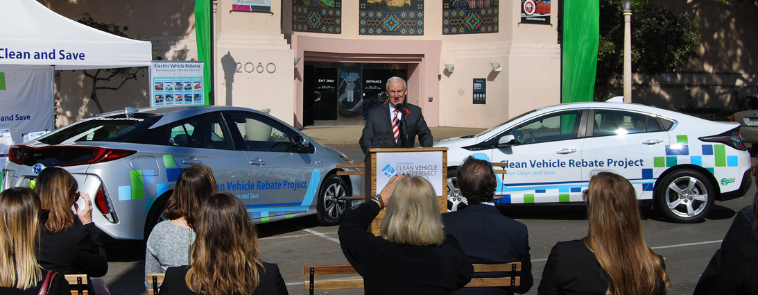 Clean Vehicle Rebate Project Initiates Now In San Go County