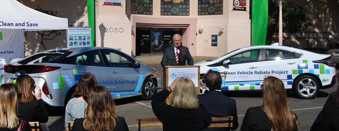 Clean Vehicle Rebate >> Clean Vehicle Rebate Project Initiates Rebate Now In San