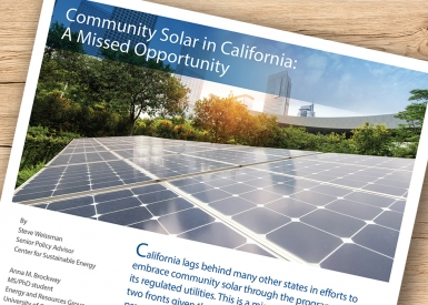 Community Solar in California: A Missed Opportunity